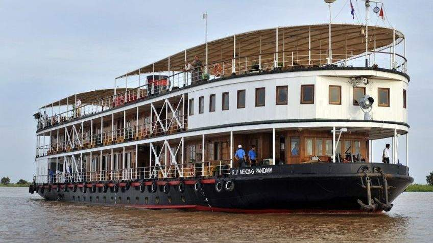 Upper Irrawaddy River by RV Pandaw Cruise Photos